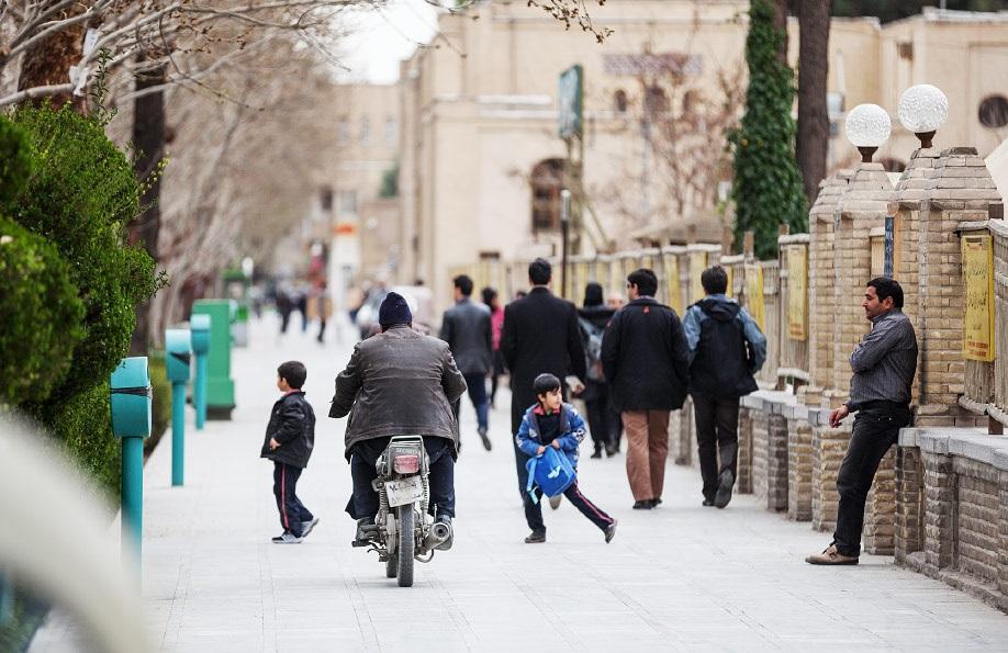 فضای بیدفاع شهری در اصفهان