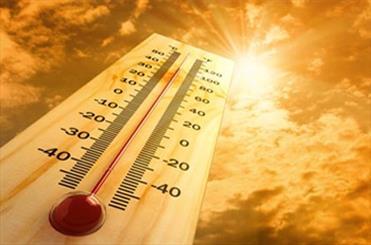 شدت هوای گرم