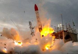 انفجار موشک ژاپنی
