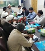 اولین جلسه هم اندیشی هشتمین جشنواره رضوی در شهرستان ایرانشهر برگزار شد