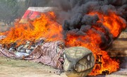 ۴۰ تن انواع مواد مخدر غیر دارویی در اصفهان امحا شد