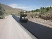 آغاز آسفالت پروژه راه روستایی محور بیرم آباد –امیرآباد فاروج