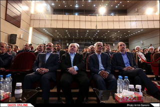 مراسم افتتاح رسمی رادیو زیارت و 270پروژه فنی صدا و سیمای خراسان رضوی