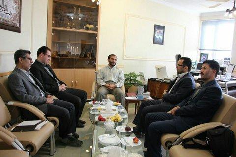 جلسه مدیرکل اداره کل آموزش  فنی وحرفه ای استان همدان