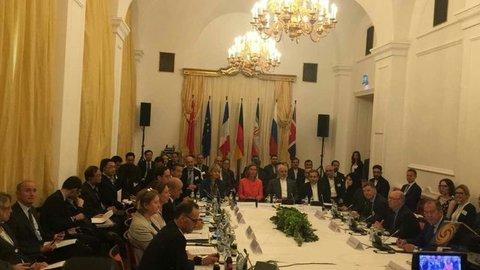نشست وزرای خارجه ایران و 1+4