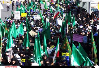   راهپیمایی روز ملی عفاف و حجاب در مشهد