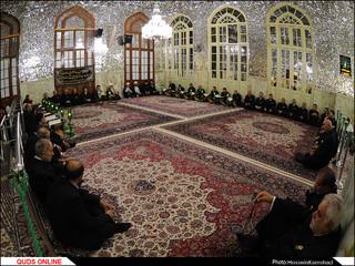 آئین سنتی صفه در بارگاه امام علی بن موسی الرضا(علیه السلام) برگزار شد/گزارش تصویری