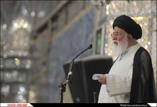 نمازجمعه مشهد / گزارش تصویری