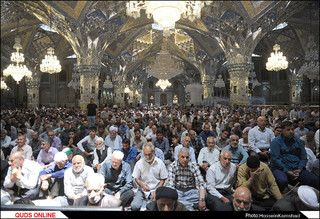 نماز جمعه مشهد / گزارش تصویری