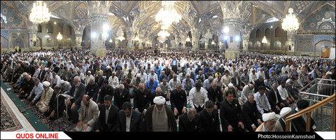 نماز گجمعه مشهد / گزارش تصویری