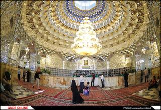 فعالیت کفشداران حرم رضوی / گزارش تصویری