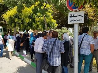 اعتراض فرهنگیان خراسان