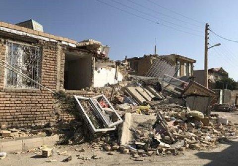 فیلم| زلزله شدید 5.9 ریشتری تازه آیاد کرمانشاه را لرزاند