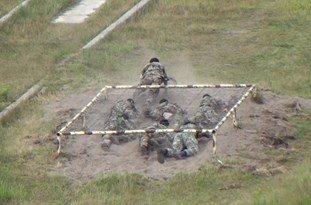 تمرین سخت نظامی
