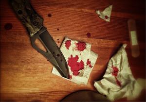 قتل با ضربه چاقو