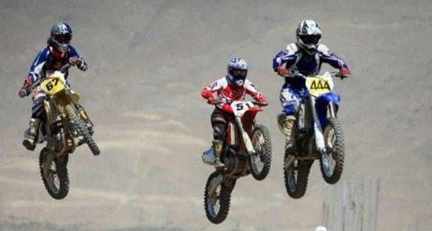 مسابقات موتور کراس کشوری