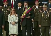 سوء قصد به جان نیکلاس مادورو/ فرار سراسیمه سربازان ونزوئلایی پس از شنیدن صدای انفجار + فیلم