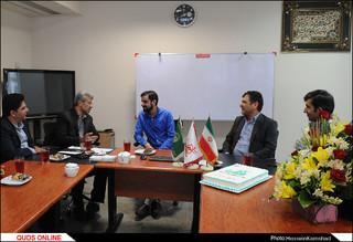 دیدار مدیران و مسئولان استان خراسان رضوی با خبرنگاران روزنامه قدس/ گزارش تصویری 2
