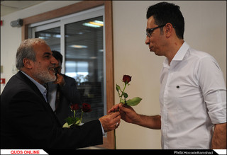 دیدار مدیران و مسئولان استان خراسان رضوی با خبرنگاران روزنامه قدس/ گزارش تصویری2
