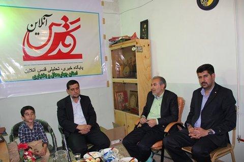 بازدید موسسه فرهنگی قدس در استان