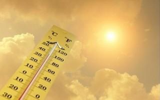 گرمای هوا