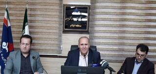 نشست خبری مدیرعامل شرکت پخش فرآورده های نفتی منطقه ایلام