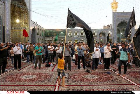 اجتماع عزاداران هیئات مذهبی در غروب شهادت امام جواد (ع)