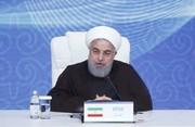 فیلم | روحانی: عبور شناورهای جنگی خارجی از دریای خزر ممنوع است