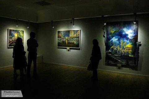 نمایشگاه تصویرگری «یا امام رئوف (ع)» در نگارخانه رضوان گشایش یافت