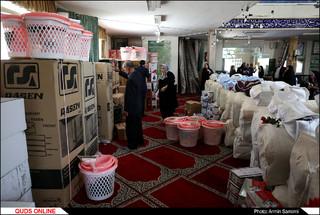 مراسم اهدای53سری جهیزیه به زوج های جوان مناطق محروم