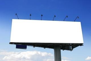 تابلوی تبلیغاتی