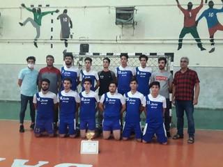 هندبالیست های جوان تربت جام نائب قهرمان استان