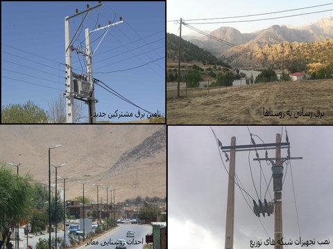 پروژه های شرکت برق