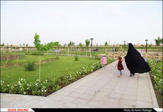 آیین بهره برداری از پنج مسجد در بوستان های مشهد