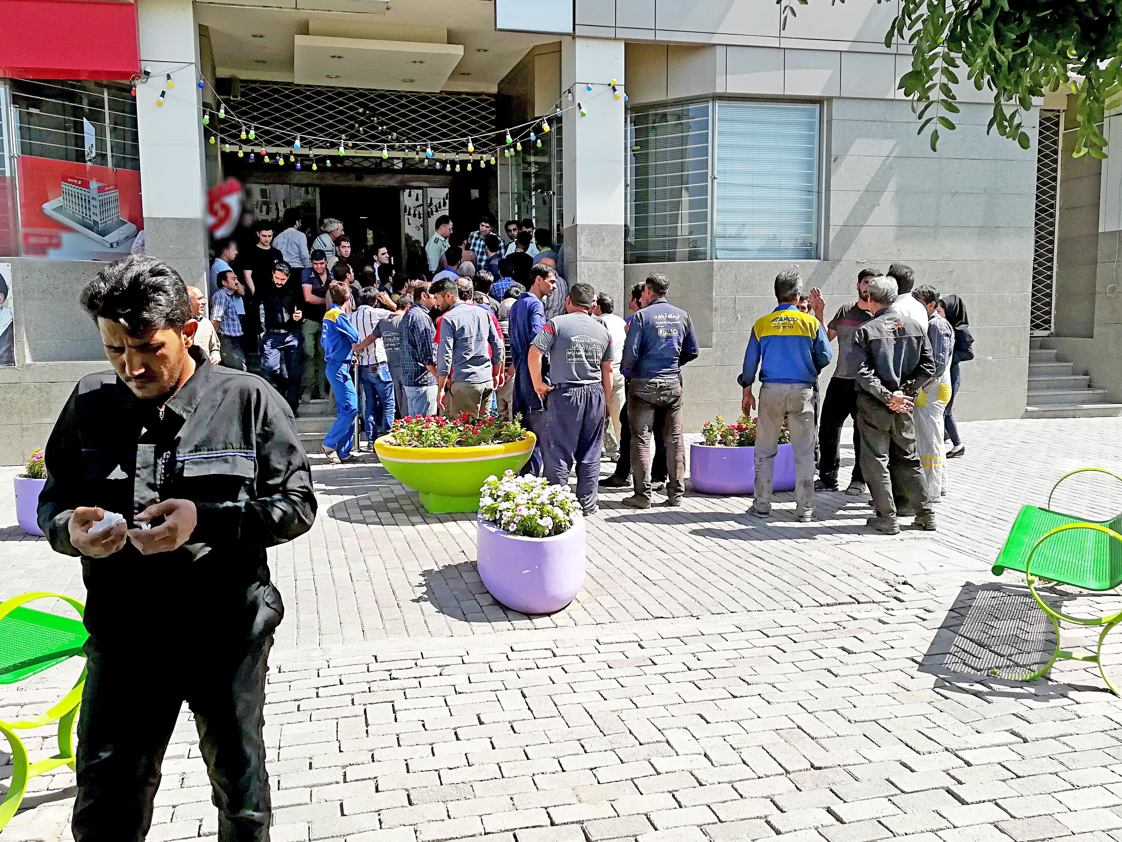 اعتراض تعمیرگاه داران مشهد