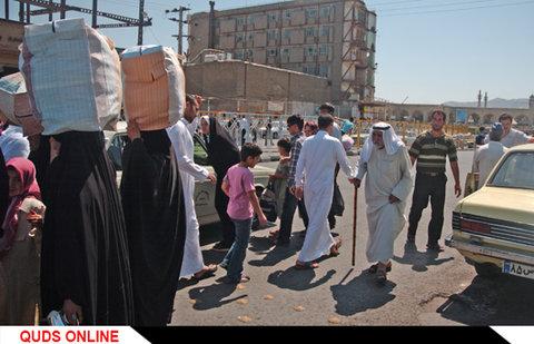 زائر و مسافر عرب در مشهد