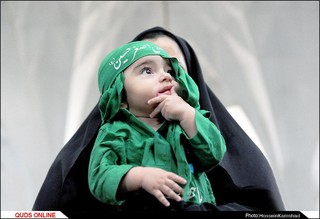 مراسم شیرخوارگان حسینی ھیئت رزمندگان اسلام مشهد