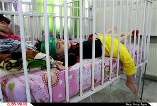 شیرخوارگان حسینی آسایشگاه معلولین شهید فیاض بخش