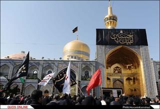 عزاداری تاسوعای حسینی درمشهد