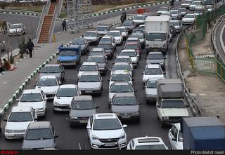ترافیک ورودی مشهد