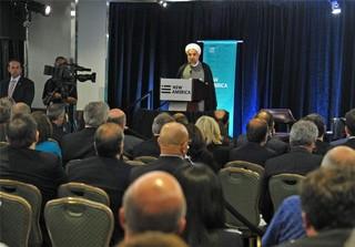روحانی در نیویورک