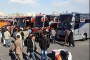 موضوع کمبود اتوبوس در پایانه های مسافربری مشهد صحت ندارد