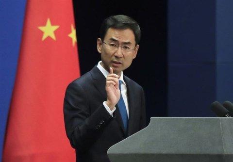 گنگ شوانگ، سخنگوی وزارت خارجه چین