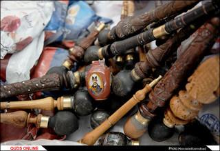 کشف ۳ تن و ۱۸۰ کیلوگرم مواد مخدر از یک بونکر حمل گاز /گزارش تصویری