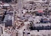 طوفانی که فلوریدا را با خاک یکسان کرد! + فیلم