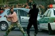 حمله وحشیانه به مامور نیروی انتظامی حین گشتزنی