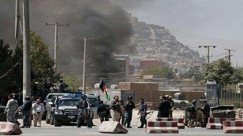 فیلم| انفجار در انتخابات افغانستان