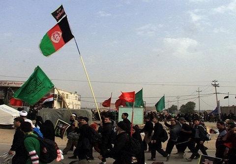 زائران افغانستانی اربعین