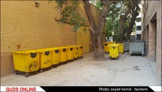 انباشت زباله های بیمارستانی
