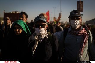 پرتره های محیطی از زائران پیاده اربعین حسینی